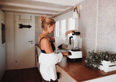 voll ausgestattete Küche Tiny