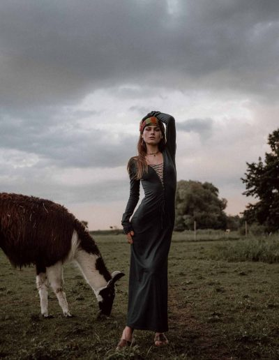 Fotoshooting mit Alpakas und Fotografin Vivi